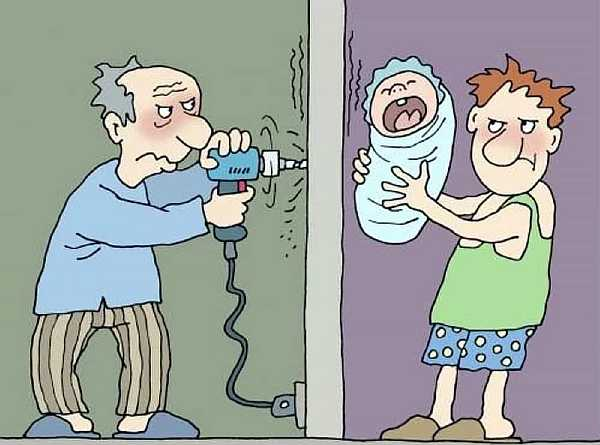 Шумные соседи